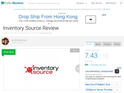 inventory source reviews