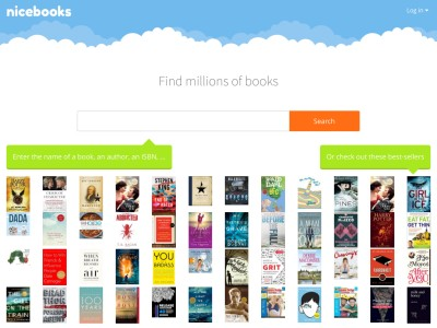 NiceBooks, book search by ISBN, book price comparison
