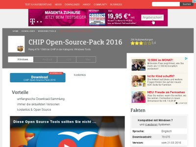 CHIP Open-Source-DVD 2013 - Download - CHIP Online